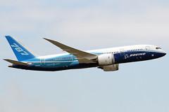 Boeing 787 Dreamliner - the first visit to Poland. (Corsarz) Tags: warsaw boeing warszawa 787 epwa dreamliner