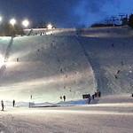 Kimberley Alpine Resort, Night Slalom race under the lights, March 6, 2014 PHOTO CREDIT: Jon Blair