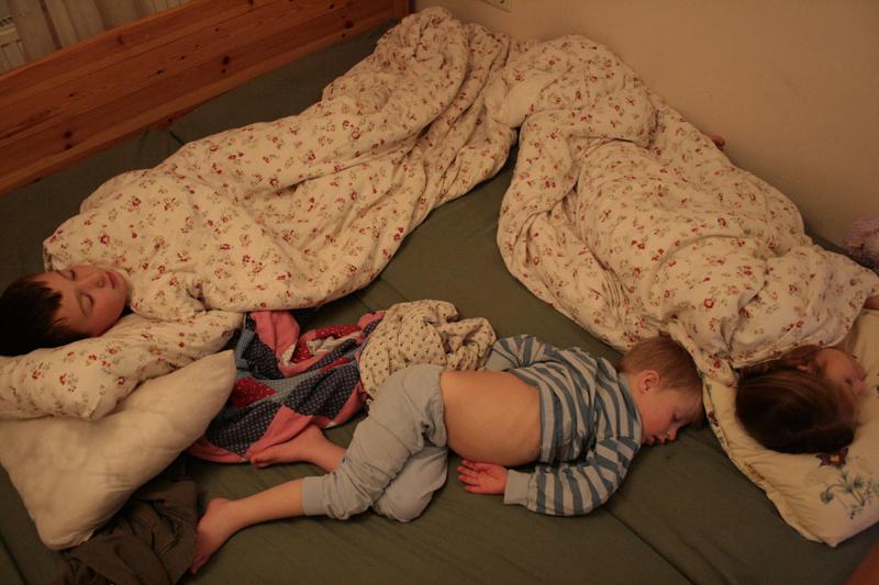 schlafendes dreieck