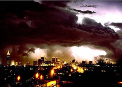 Atlanta tornado (R. O. Flinn) Tags: atlanta sky weather night clouds georgia tornado cyclone catastrophe shanedurrance