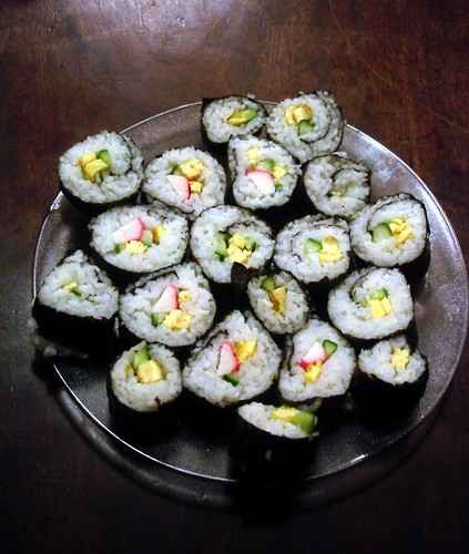 "Homemade ""Sushi"""