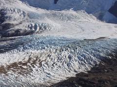 Fitz Roy - trek - glacier