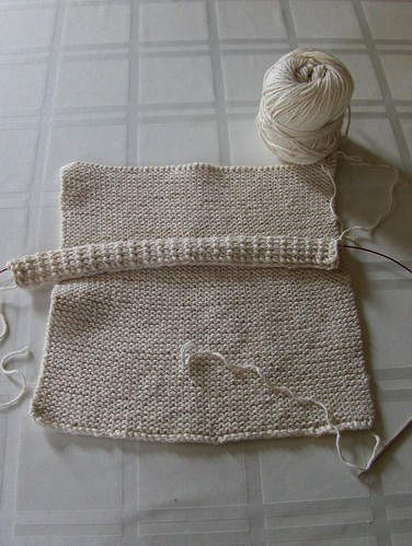 Washcloth Trio in Progress