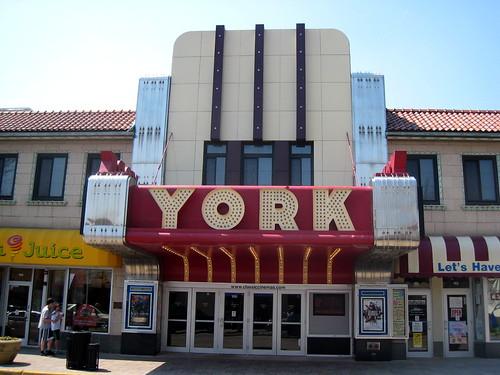 york theater. york theater - elmhurst, ilinois