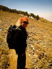An easy part (MAKSTER) Tags: california mountains outdoors hiking deathvalley meri montaas makster deathvalleynationalpark telescopepeak grouphike
