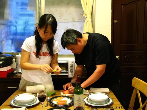 母親節大餐準備_