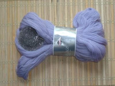 yarn and beads