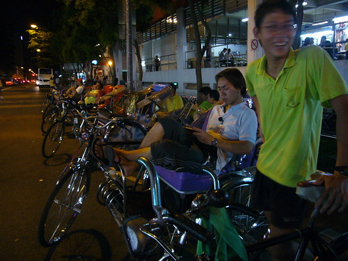 trishaws at bugis