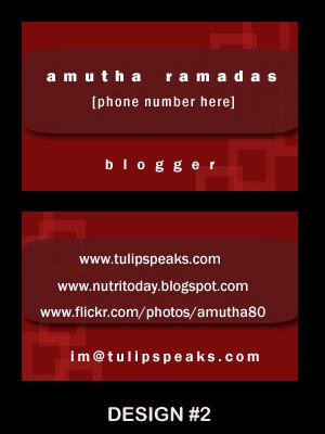 Name card - design 2