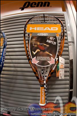 Racquetball Racquet: HEAD AMP 195