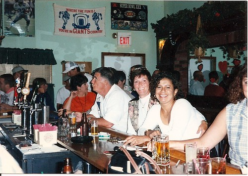 AROUND THE CORNER. Dicky Savage (center), Judy (Right of Dicky). Photo Courtesy of Lou Costa