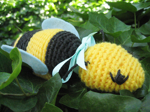 Bumble Bee Softie