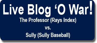 [LIVE BLOG-A-BALOO] Rays Index Live Blog-A-Baloo Of The Week: Gm 60 v Boston: BLOG 'O WAR!