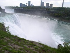 The Falls Side View