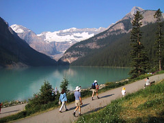Louise (view836) Tags: canada landscape hiking scenic glacier alberta lakelouise