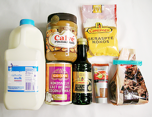 Satay sauce-080609