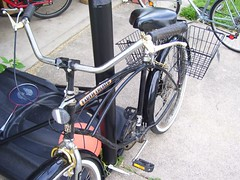 I Want To Ride My Bicycle (lisabk) Tags: bike bikes bikeproject earthcruiser builtbyjim