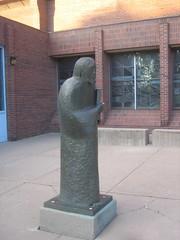 Jesus Sculpture by Gerald Bonnette