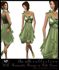 [MG fashion] Romantic Breeze (pale green)