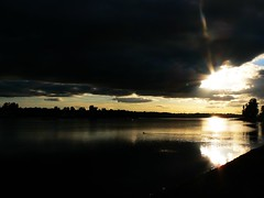 Strathclyde Lake at Dusk (SmartAlex) Tags: park sunset water scenery strathclydepark strathy