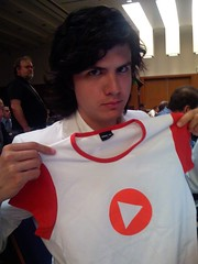 Ernst-Jan and his girly Sevenload shirt