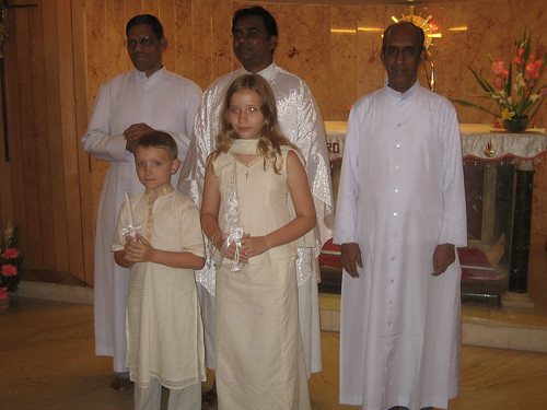 First Communion celebrants