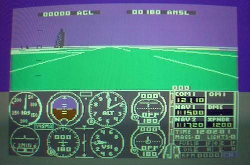 Flight Simulator II as Navigation Trainer