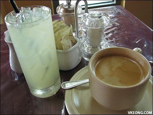 coffee and lime juice