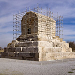 The tomb of Cyrus the Great at Pasargadae