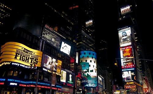 Noche en Times Square