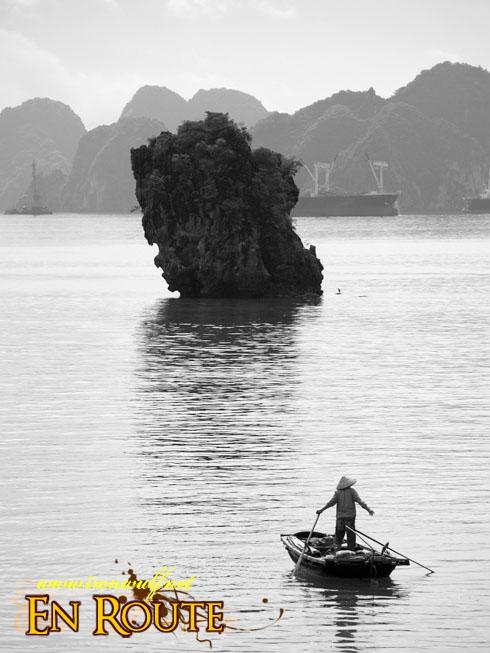 Ha Long Bay Mono Karst and Man Stand