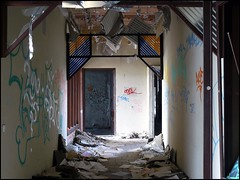 rewatex26 (atomhirsch) Tags: berlin spindler kpenick urbex modernruins verfall wscherei spindlersfeld frberei fz8 rewatex