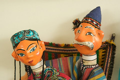 Uzbek dolls (wycombiensian) Tags: newmexico santafe folkart market international