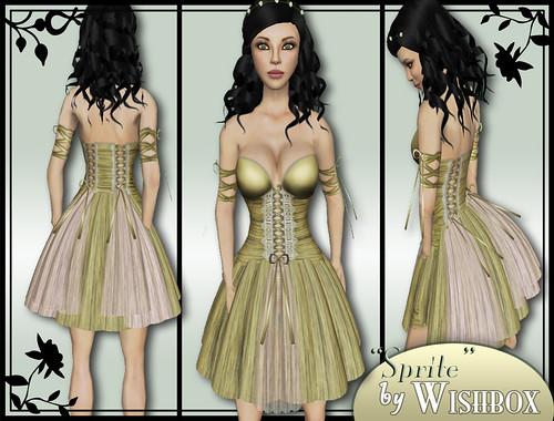 """Sprite"" in gold by Wishbox"