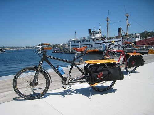 Xtracycles at South Lake Union Park