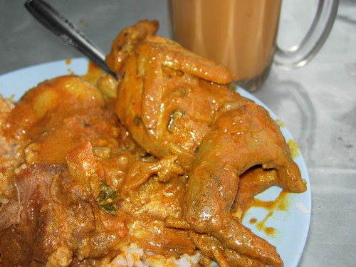 burung puyuh curry