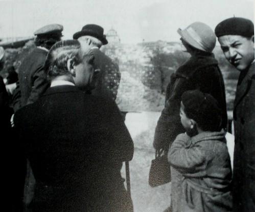 Albert Einstein en Toledo, 6 de marzo de 1923. Fundación Ortega y Gasset.