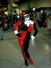 Harley Quinn (whitefridaynight) Tags: costumes comics sandiego convention batman 2008 comiccon harleyquinn