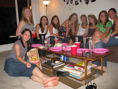 All the Girls at Steph's house