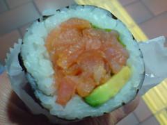 Smoked Salmon Sushi Roll - Tokui Sushi