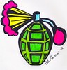 Scent of Death grenade print etsy