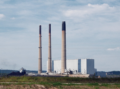 Ameren UE Labadie Power Plant, in Labadie, Missouri, USA