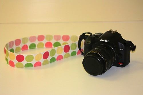 camera & custom strap
