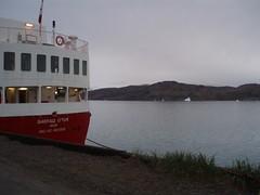 Sarfaq Ittuk ved kaj i Narsarsuaq (2) (pingvin2007) Tags: grnland ilulissat isbjerge