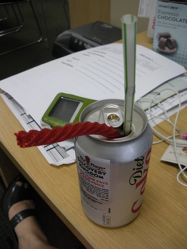 diet coke and red vines