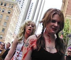 Zombie chickies