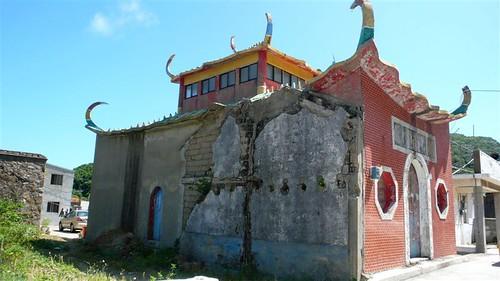 北竿塘岐的老建築