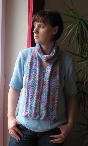 chevron scarf II