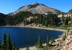 Lake Helen (zoniedude1) Tags: california mountain lake nature landscape volcano rocks scenic alpine geology lassenvolcanicnationalpark lassenpeak lakehelen cascadevolcanoes ourplanet worldwidelandscapes zoniedude1 dormantbutnotdead yesthisthingcouldblowupagain