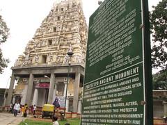 Bull Temple Gopura